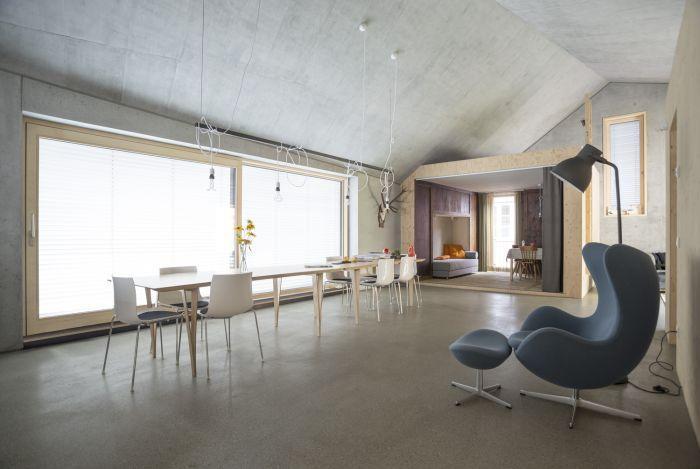geschliffene estriche oder beton ist ein moderner und zeitloser fu boden designtrend. Black Bedroom Furniture Sets. Home Design Ideas